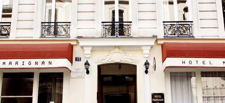 Hotel Marignan Front Door